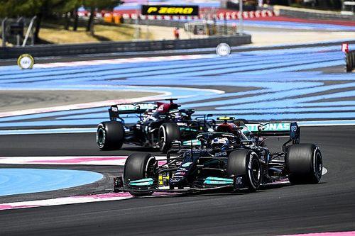 Mercedes Unggul Tipis atas Red Bull dari Dua FP GP Prancis