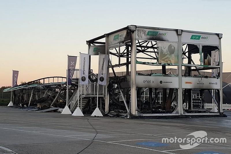 MotoE revela la causa del incendio que arruinó el inicio de campeonato