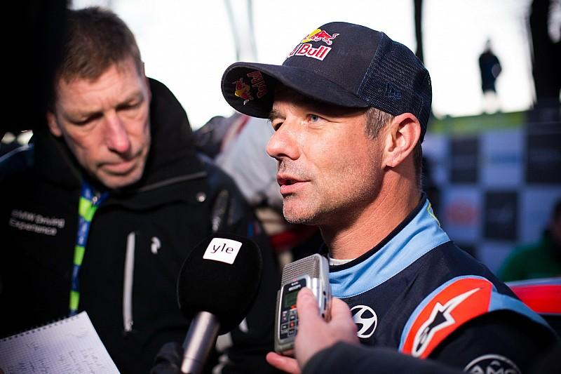 Loeb sufre un fuerte accidente probando para el Rally de Suecia
