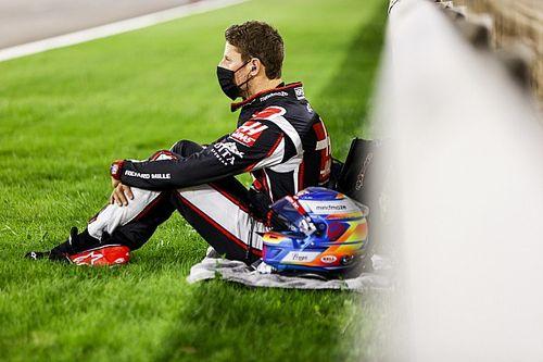 Steiner says Grosjean wants to return for Abu Dhabi GP
