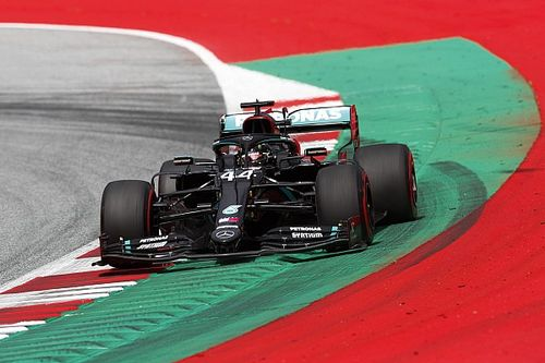 Austrian GP: Hamilton leads another Mercedes 1-2 in FP3