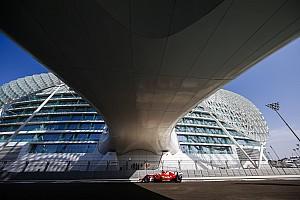 Ferrari am Abu-Dhabi-Freitag zweigleisig und mit Luft nach oben