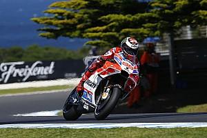 MotoGP News Ducati in Phillip Island: Dovizioso positiv, Lorenzo negativ überrascht