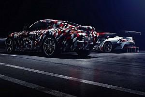 Automotive Breaking news 2019 Toyota Supra returns in new teaser ahead of Goodwood debut