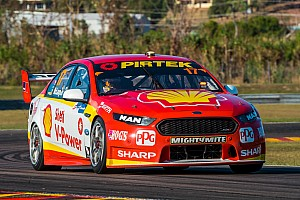Supercars Qualifying report Darwin Supercars: McLaughlin takes provisional pole