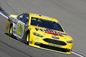 NASCAR Sprint Cup Crónica de entrenamientos Ryan Blaney domina la última práctica en Las Vegas