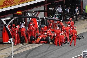 Forma-1 Motorsport.com hírek Vettel megvédte a taktikát: jó döntés volt a kerékcsere, nem azon múlt