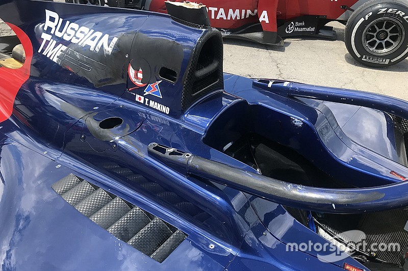 Ketika halo selamatkan nyawa pembalap Formula 2