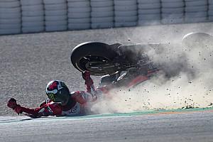 Сезон MotoGP 2017 року: статистика аварій