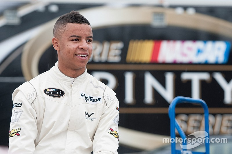 NASCAR Drive for Diversity combine caps busy year for Armani Williams
