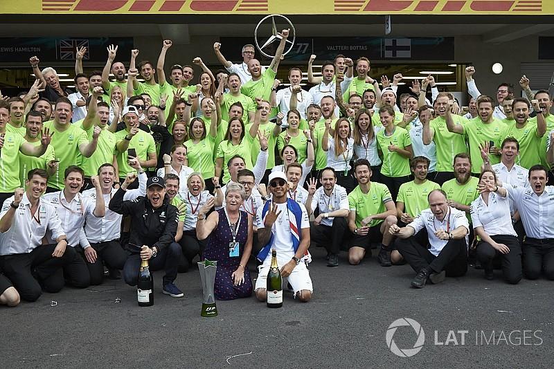Por qué los títulos de Mercedes en 2017 han sido su logro más increíble