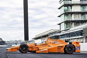 IndyCar Noticias Presentado el coche con el que Alonso correrá en Indianápolis