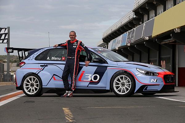 TCR Pressemitteilung Alain Menu fährt die letzten zwei Rennen der TCR International Series