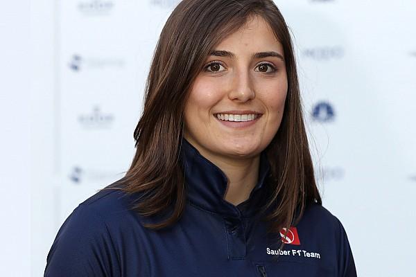 Кальдерон стала тест-пилотом Sauber