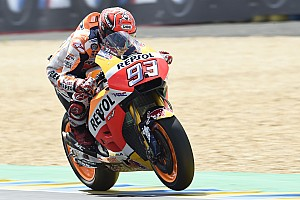 MotoGP Practice report MotoGP Perancis: Marquez puncaki warm-up, Tech 3 impresif