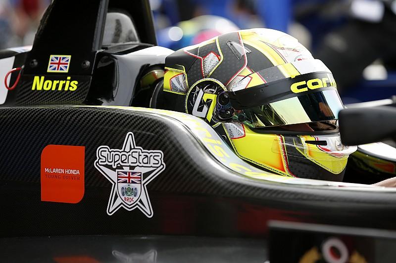 Norris en test avec McLaren au Portugal