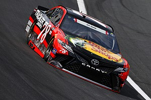 NASCAR Cup Race report Truex wins Stage 2 as Coca-Cola 600 hits halfway point