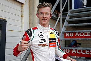 Евро Ф3 Отчет о гонке Илотт выиграл вторую гонку Ф3 в Хоккенхайме