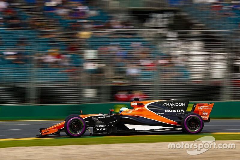 【F1】アロンソ「13位を祝うことなどできない。優勝を争いたい」
