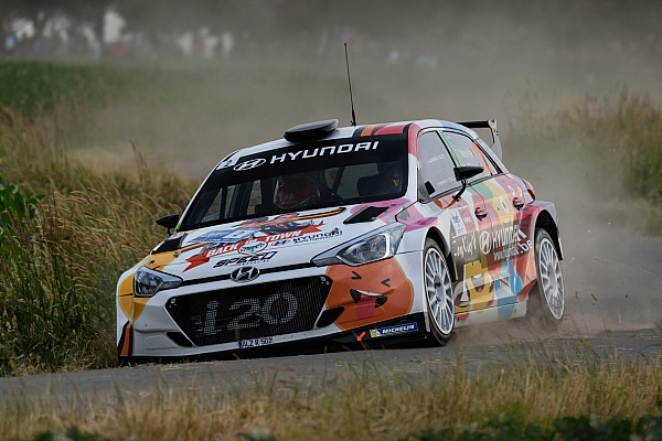 BRC Breaking news WRC star Neuville rolls out of Rally Ypres lead