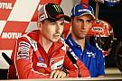 Лоренсо готовий підтримати Довіціозо у боротьбі за титул MotoGP
