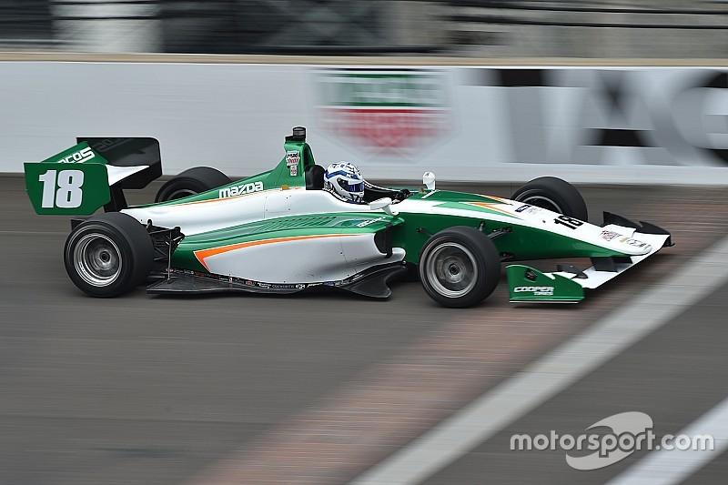Indy GP Lights: Kaiser scores first win of the season