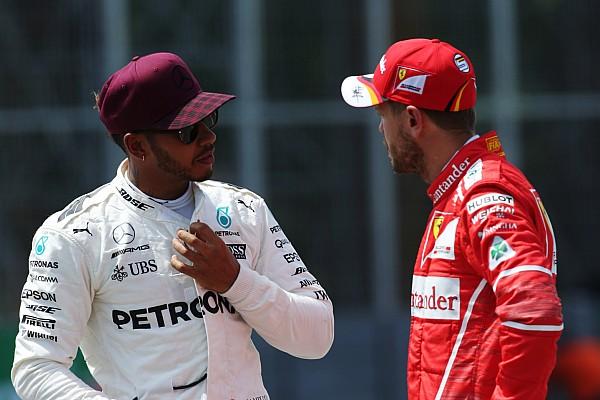 Formel 1 Reaktion F1-Crash in Baku 2017: So reagieren Sebastian Vettel und Lewis Hamilton