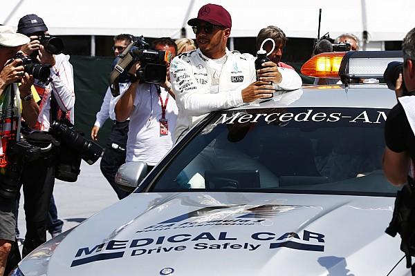 F1 加拿大大奖赛排位赛:汉密尔顿力挫维特尔摘杆位,追平塞纳纪录