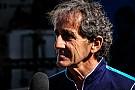 Formula E Alain Prost no cree que se repita la debacle de DAMS en Fórmula E