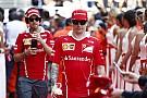 Ferrari сыграла в футбол: Райкконен забил три гола