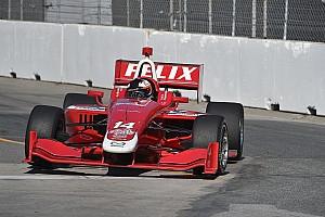 Indy Lights Репортаж з кваліфікації Росенквіст став володарем поула в Торонто