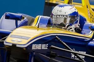 Formula E Practice report London ePrix: Prost leads, Frijns shunts in first practice