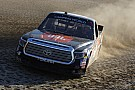 NASCAR Truck Bell warms up for dirt battle with Lou Blaney Memorial win