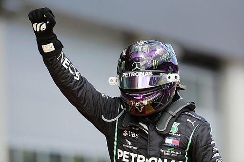 """Hamilton: """"Bello tornare a vincere dopo un weekend complicato"""""""