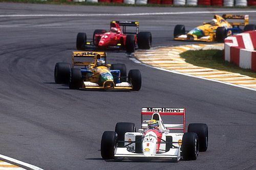 How Senna enraged an unknowing Schumacher in Brazil