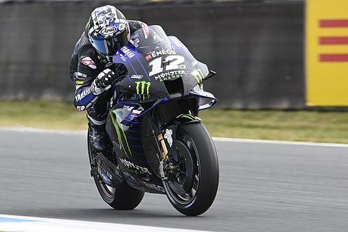 Viñales, el más rápido en Assen; tremendo accidente de Márquez