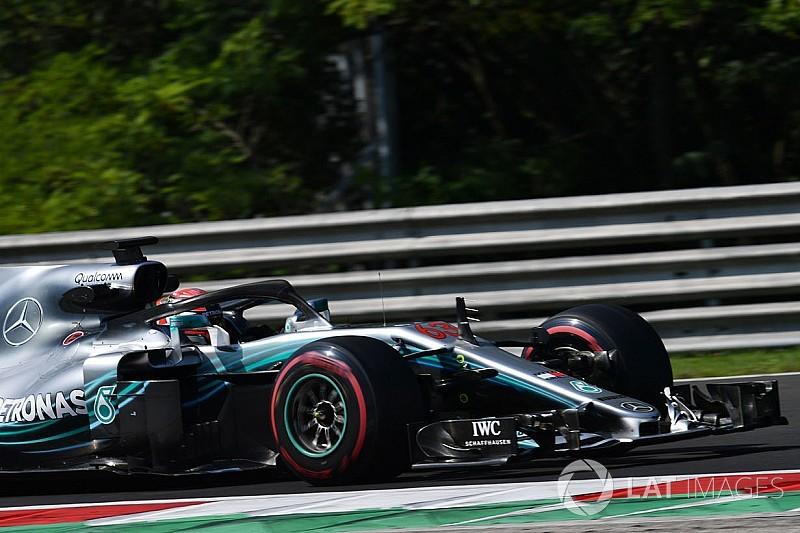 Russell cierra el test de F1 en Hungría a ritmo de récord