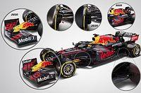 Анализ: чем новый болид Red Bull отличается от прошлого