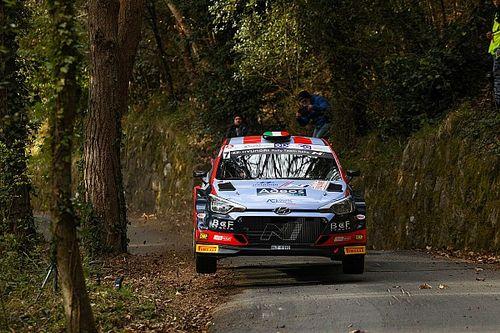 CIR, Rally Roma, PS0: Crugnola al comando, poi Basso