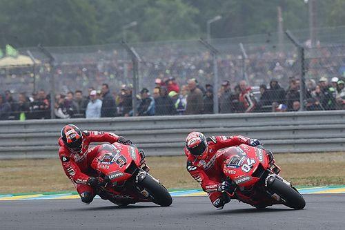 Ducati appelle ses pilotes à faire mieux en 2020