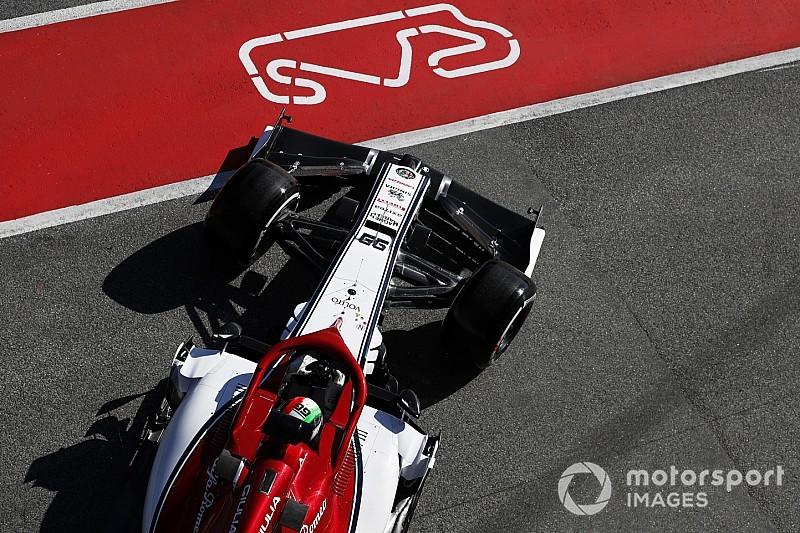 Fotogallery: l'Alfa Romeo Racing nei secondi test collettivi di Barcellona