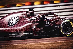 阿尔法F1新车披情人节涂装在费奥拉诺首航