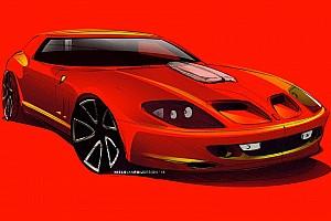 Ferrari Breadvan Hommage being built from 550 Maranello