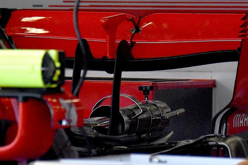 Ferrari: l'ala posteriore di Vettel a cucchiaio non è troppo scarica per Silverstone?