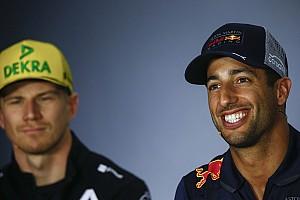 Ricciardo não se deixa enganar por recorde negativo de Hulkenberg