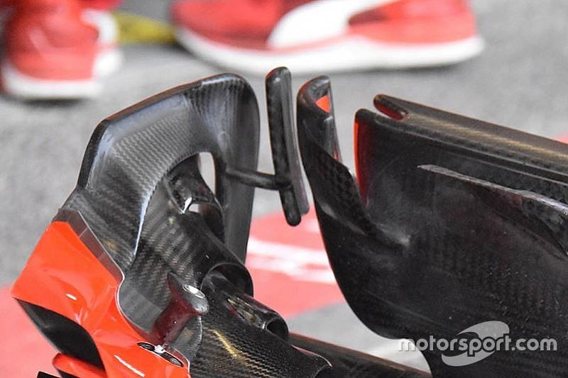 Két szárny, egy apró különbség a Ferrarinál