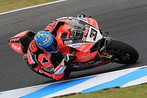 Superbike-WM Reaktion Ducati hat Rückstand: Melandri sieht trotzdem Fortschritte