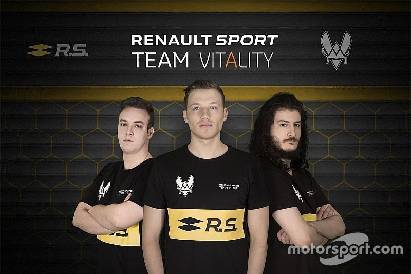 Renault стала першою командою Ф1 із програмою у кіберспорті
