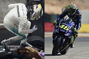 Lewis Hamilton et Valentino Rossi nommés aux Laureus Awards