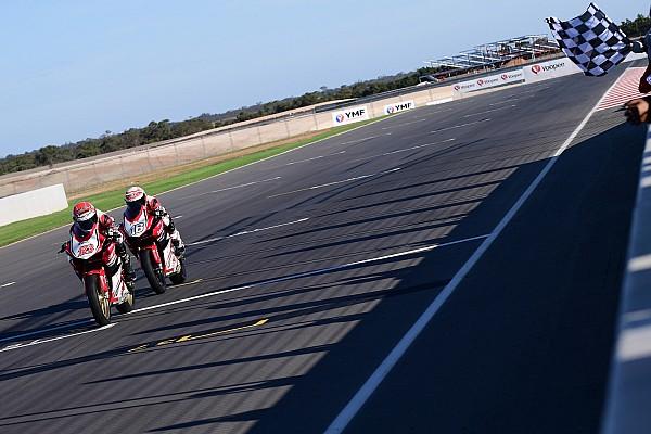ARRC Race report ARRC Australia: Rheza kalahkan Mario, AM Fadly podium